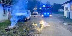 Kreisfeuerwehrverband Heilbronn Einsätze Kohlegrill In