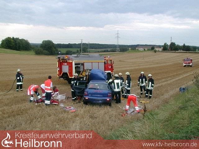 Kreisfeuerwehrverband Heilbronn Einsätze Schwerer