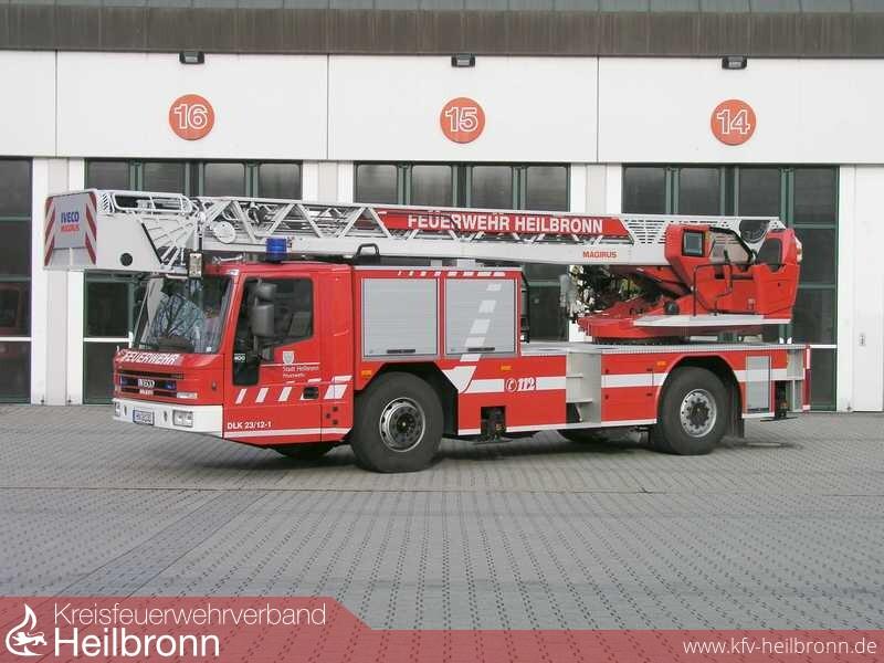 Kreisfeuerwehrverband Heilbronn Artikel Neue Drehleiter