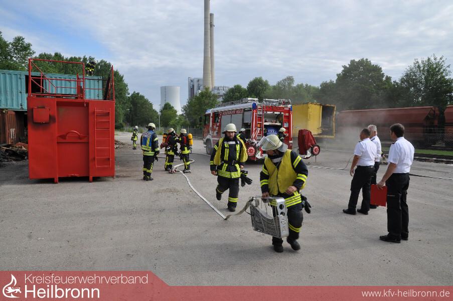 Kreisfeuerwehrverband Heilbronn Artikel Verstärkung Für
