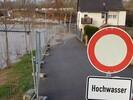 Hochwasser streift Lauffen