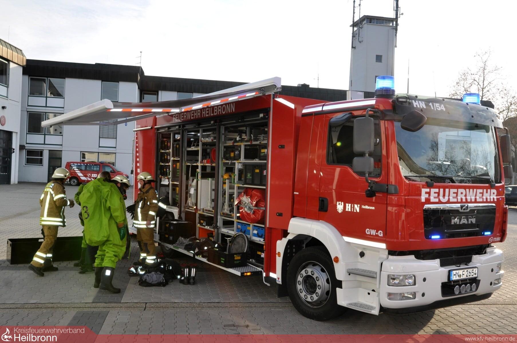 Kreisfeuerwehrverband Heilbronn Artikel Neue Gerätewagen