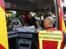Aufbau und Leitung einer Führungsstruktur im Einsatzfall - ELW 1 Fortbildung im Landkreis Heilbronn