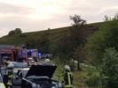 Schwerer Verkehrsunfall mit drei verletzten Personen
