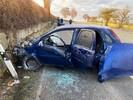 Unfall mit einer eingeklemmten Person